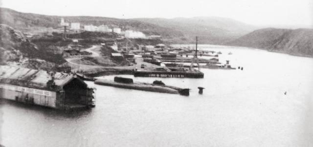 Фото: Западная Лица — база подводных лодок