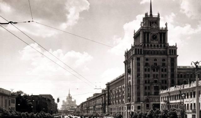 Гостиница Пекин в Москве — история ресторана