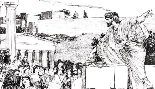 Демосфен — оратор Древнего мира: Как греки сражались за демократию?