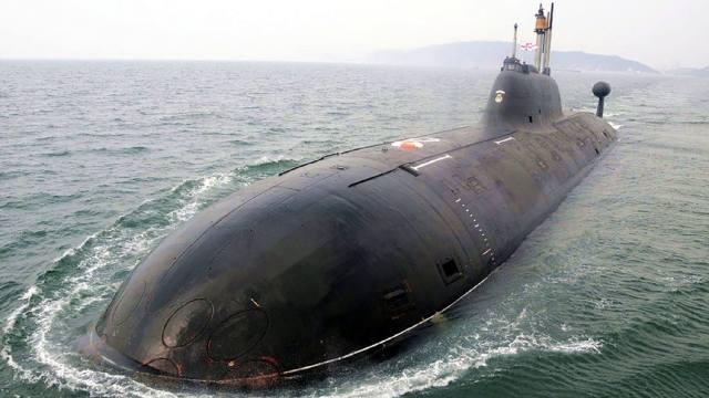 Атомная подводная лодка К-152 Нерпа