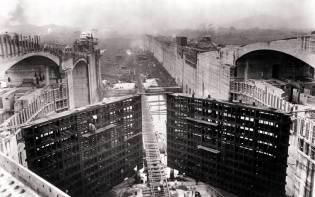 Фото: строительство Панамского канала, интересные факты