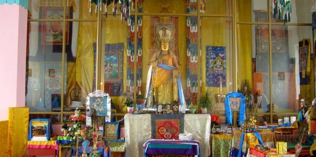 Сандаловый Будда в Бурятии
