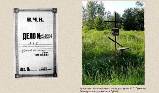 За что расстреляли Николая Гумилёва?