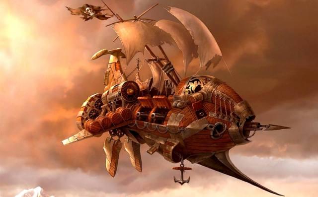 Летающие корабли Деллшау