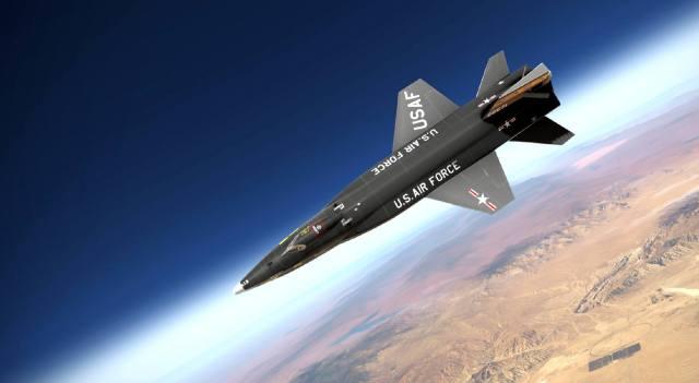 Суборбитальный самолёт X-15