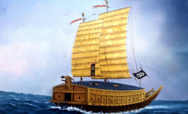 Кобуксон: корабль-черепаха