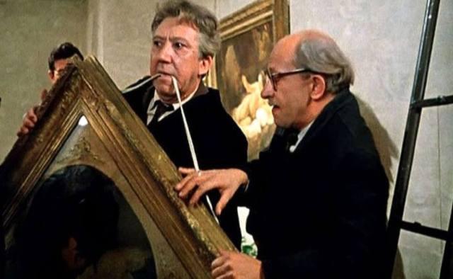 Похищение картин великих художников
