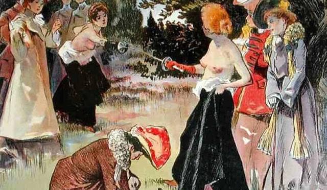 Женская дуэль в истории
