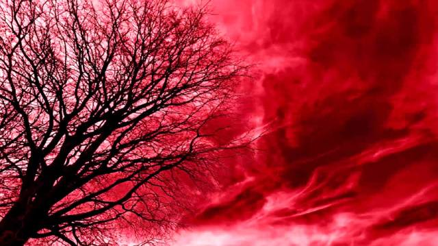 Призрачное пламя (красный туман)