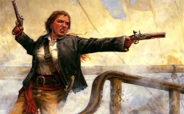 Энн Бонни — пиратка Карибского моря