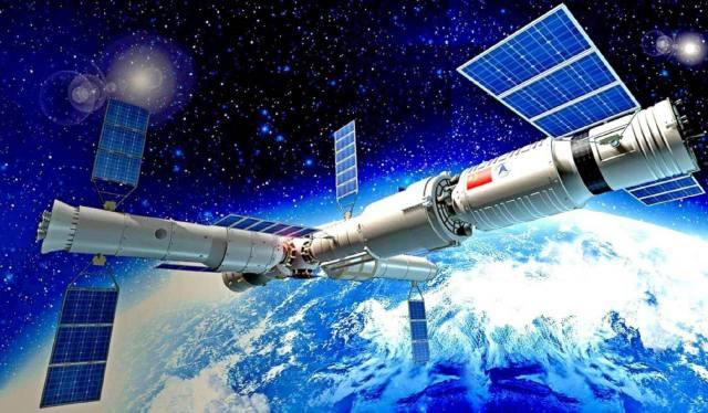 Космическая станция Китая