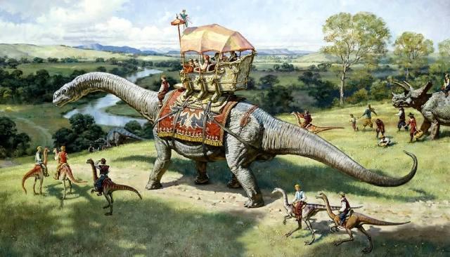 Динозавры и древние животные в Библии