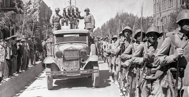 Ввод советских войск в Иран в 1941 году