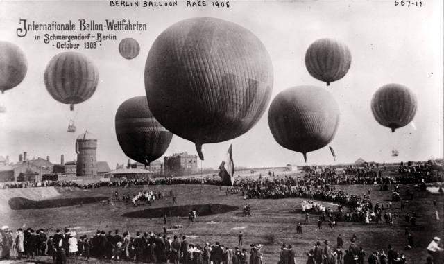 Полёты на воздушных шарах
