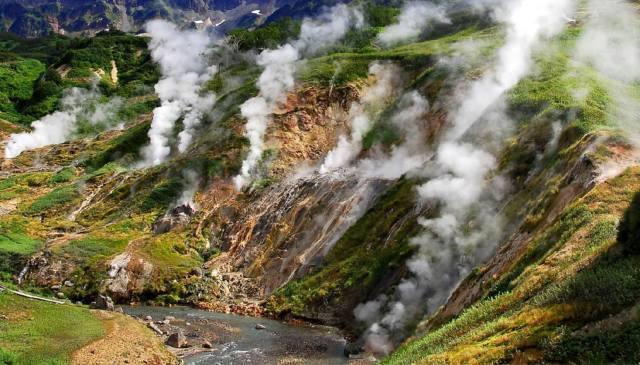 Долина гейзеров на Камчатке — сель 2007 года