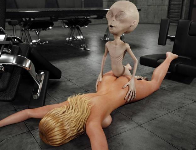 Секс с инопланетянами