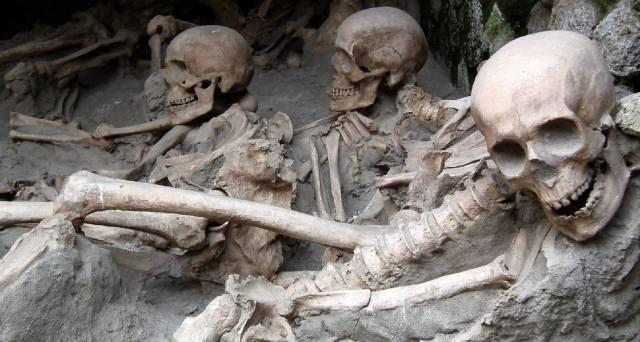 Очень страшная археология