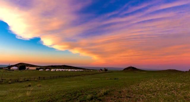 Монголия — страна вечно синего неба