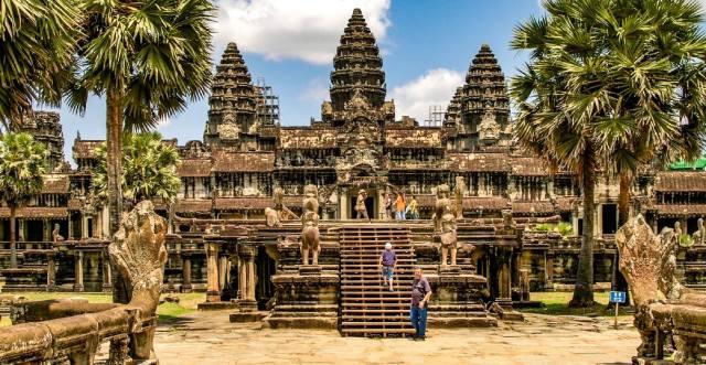 Ангкор-Ват — храмовый комплекс в Камбодже
