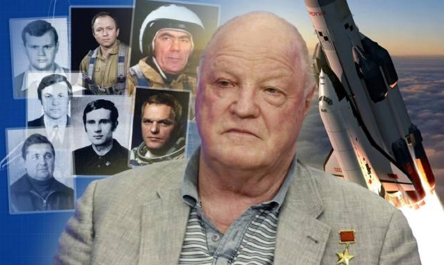 Космонавты корабля Буран