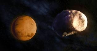 Фото: спутник Марса Фобос — интересные факты