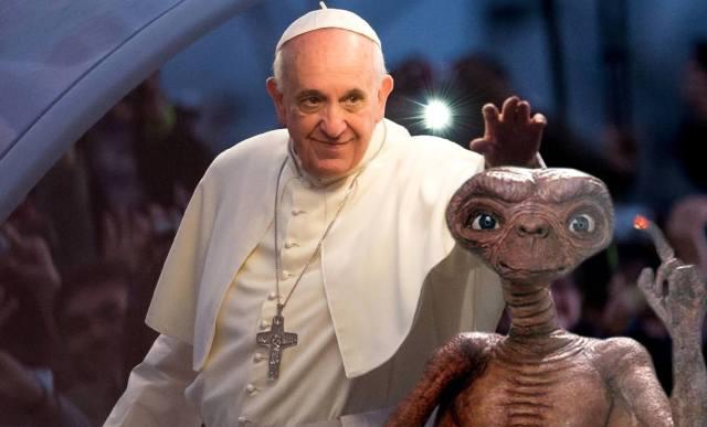 Фото: Ватикан и пришельцы