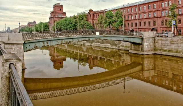 Обводный канал в Санкт-Петербурге