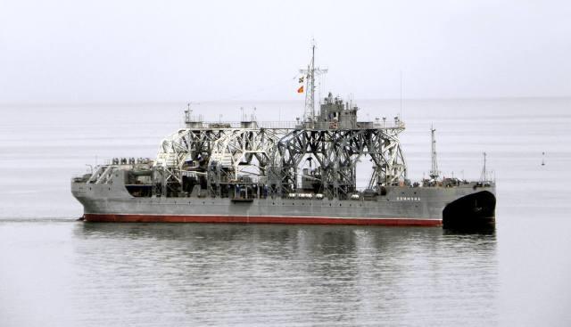 Коммуна — самый старый корабль ВМФ России