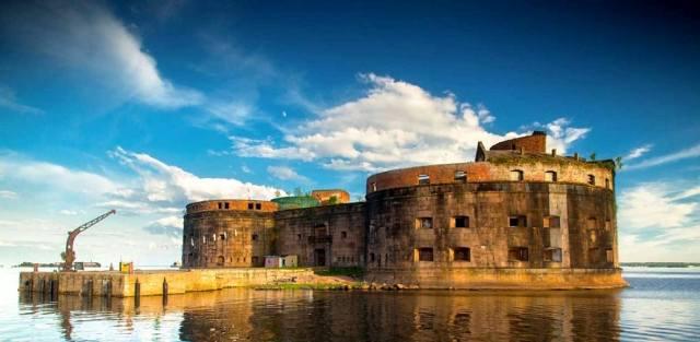 Чумной форт Александр I в Кронштадте