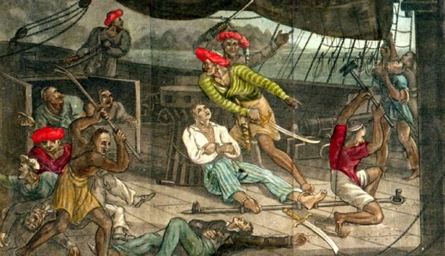 Симон Дансекер — берберийский пират