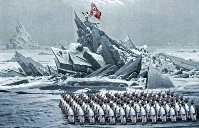 Где искать нацистские антарктические базы?