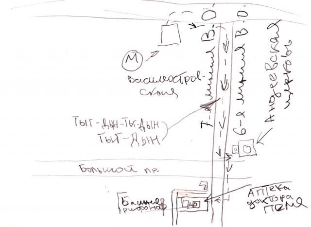 Аптека доктора Пеля и Башня Грифонов на карте