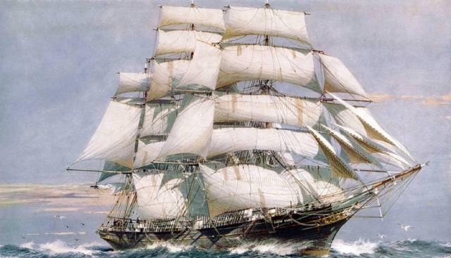Чайный клипер Катти Сарк — история корабля