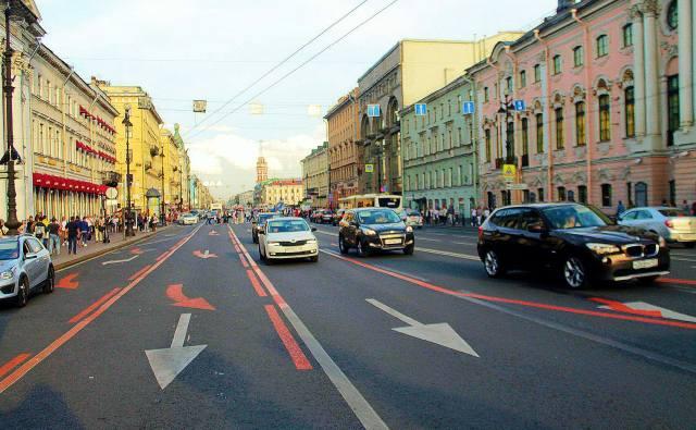 Невский проспект, Петербург