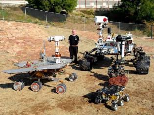 Фото: марсоход Curiosity — интересные факты
