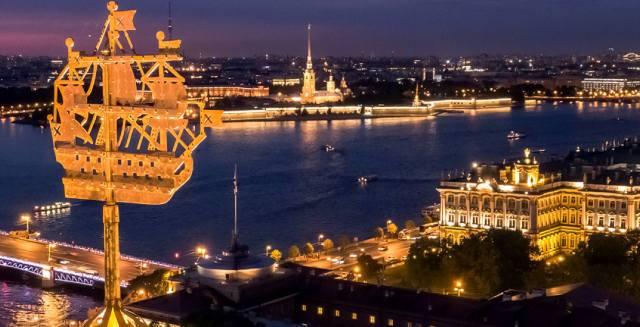 Кораблик Адмиралтейства: Загадка небесного корабля