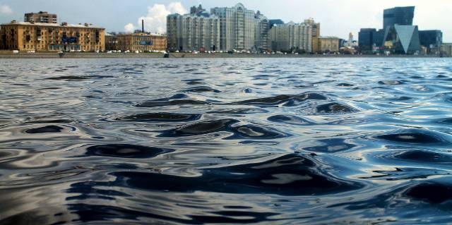 Река Нева в Санкт-Петербурге