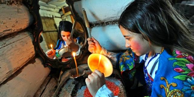 Крещенские гадания на Руси когда начинаются?