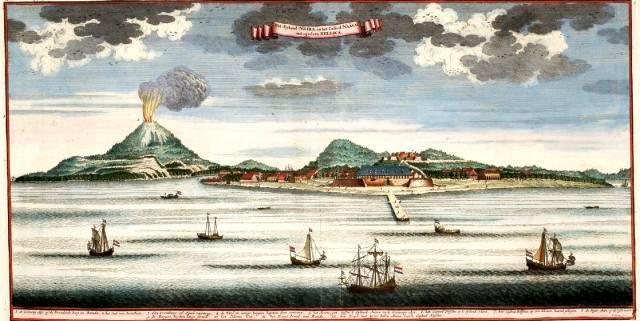 Мускатный орех и остров Рун