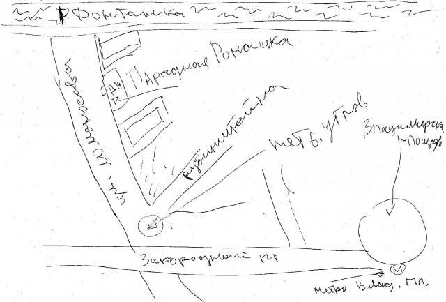 Парадная Ромашка на карте