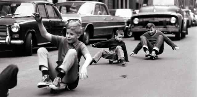 Скейтборд — история возникновения