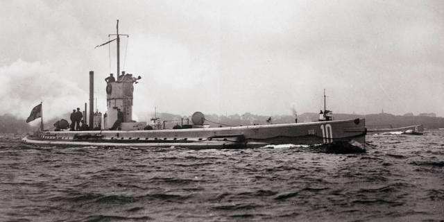 Подлодки Первой мировой войны