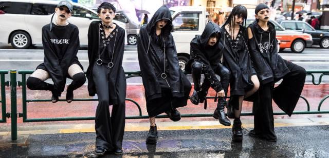 Субкультуры Японии — список молодёжных течений