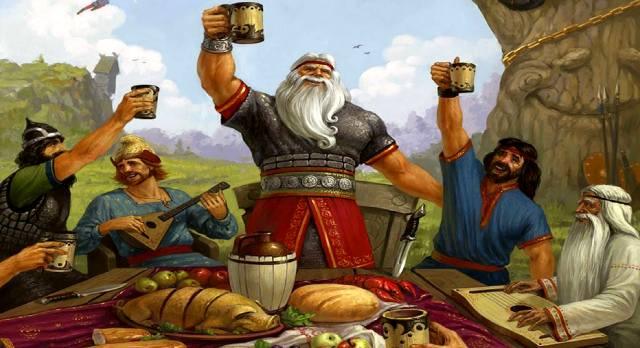 Чем питались древние славяне в старину?