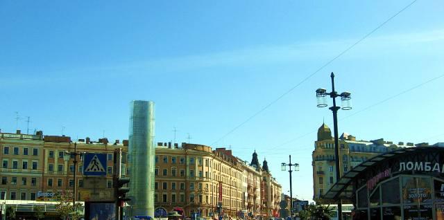 Фотография: Башня Мира в Петербурге