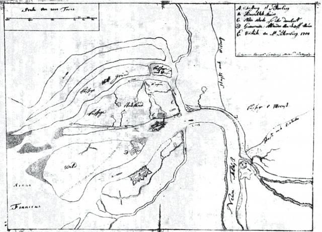 План Петербурга в первые годы его существования