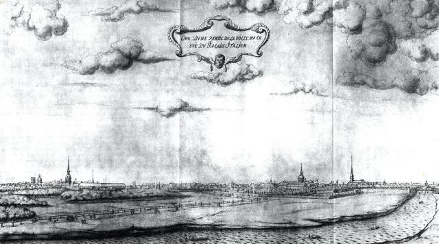 Вид на Адмиралтейский остров со стороны Мойки