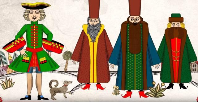 Пётр I: Какие сказки о царе рассказывали в России?