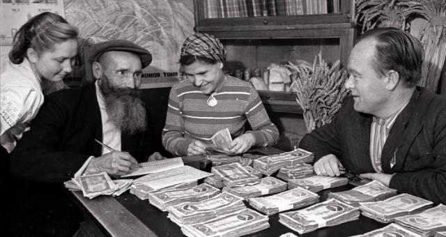Колхозная пенсия в СССР