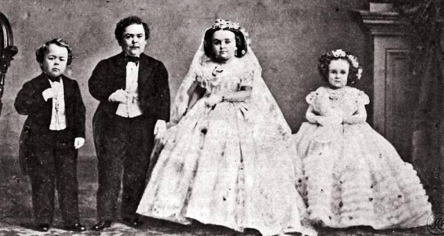 Генерал Том-Там и Лавинии Уоррен: Свадьба карликов